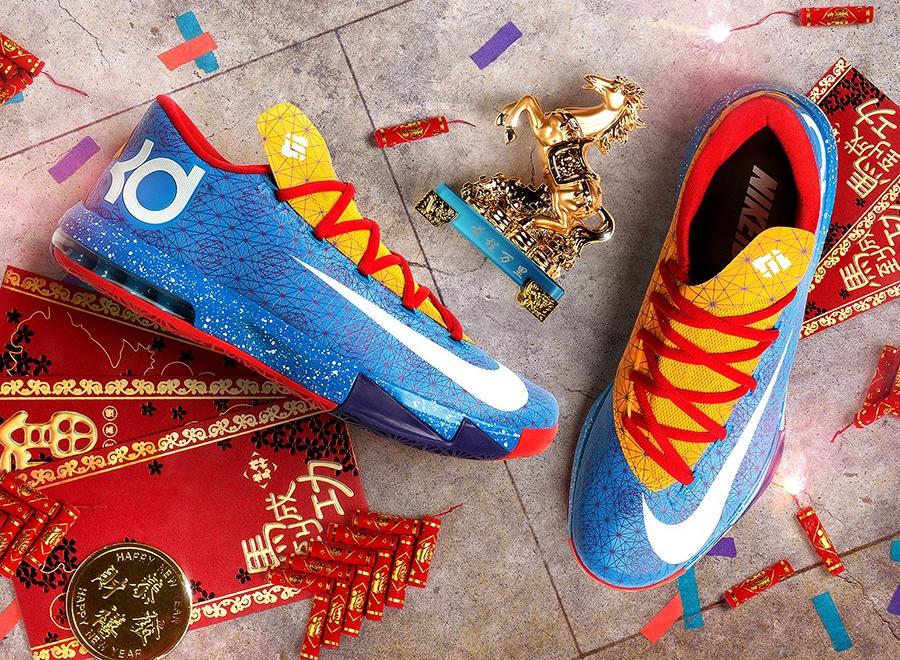 Nike kd 6 illusion on feet