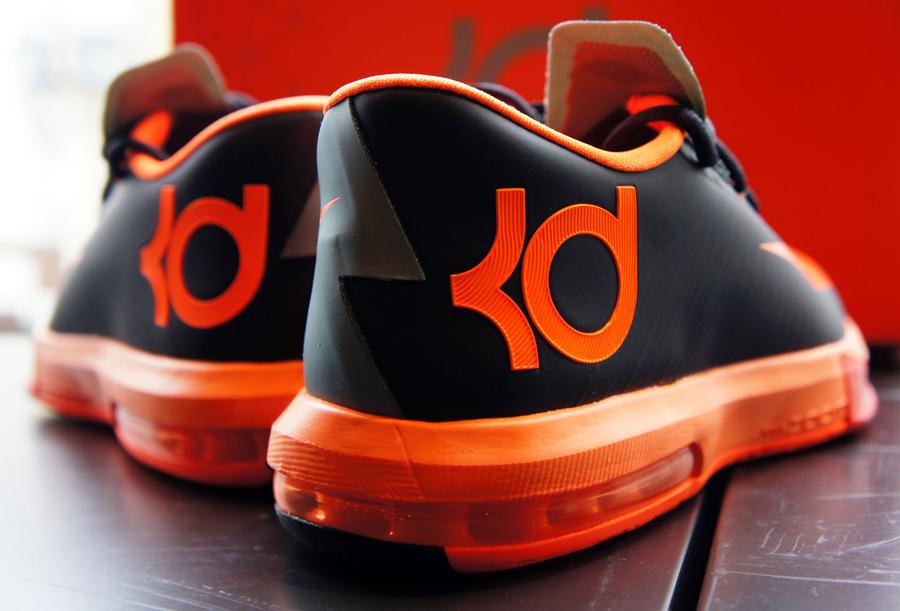 wholesale dealer f17e4 dba58 Nike KD 6 - Anthracite - Total Orange - Team Orange - Mica Grey -  SneakerNews.com