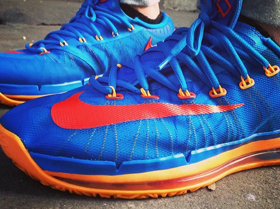 "Nike KD 6 Elite ""OKC"" - SneakerNews.com"