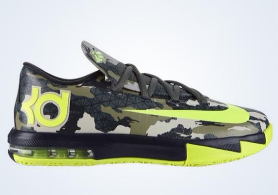 """release date: 9da8a 7a5c0 Nike KD 6 GS """"Camo"""""""