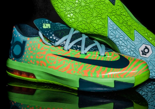 "Nike KD 6 ""Liger"" – Champs Release Info"