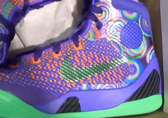 quality design 5063f dee22 Nike Kobe 9 Elite GS - Purple Venom - Vivid Pink - Turf Orange -  SneakerNews.com