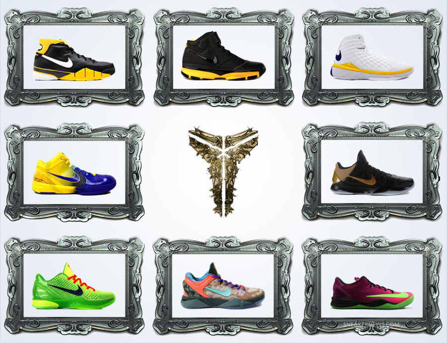 "dbf95ce28fb The ""Masterpiece Collection"" of the Nike Kobe Signature Series"