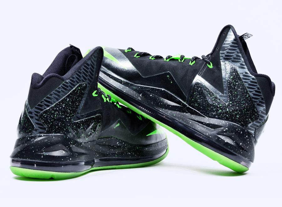 Nike lebron 10 elite oregon ducks by dmc kicks for Custom elite