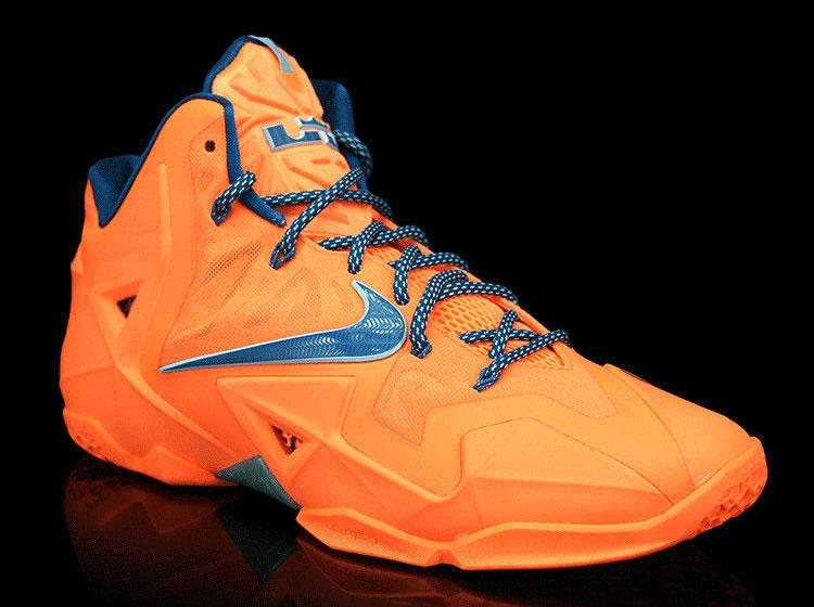 Nike LeBron 11 quot Atomic Orangequot Release Reminder