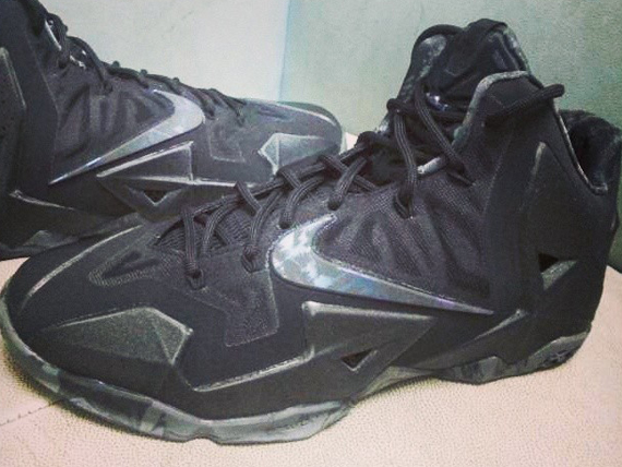 all black lebron 11
