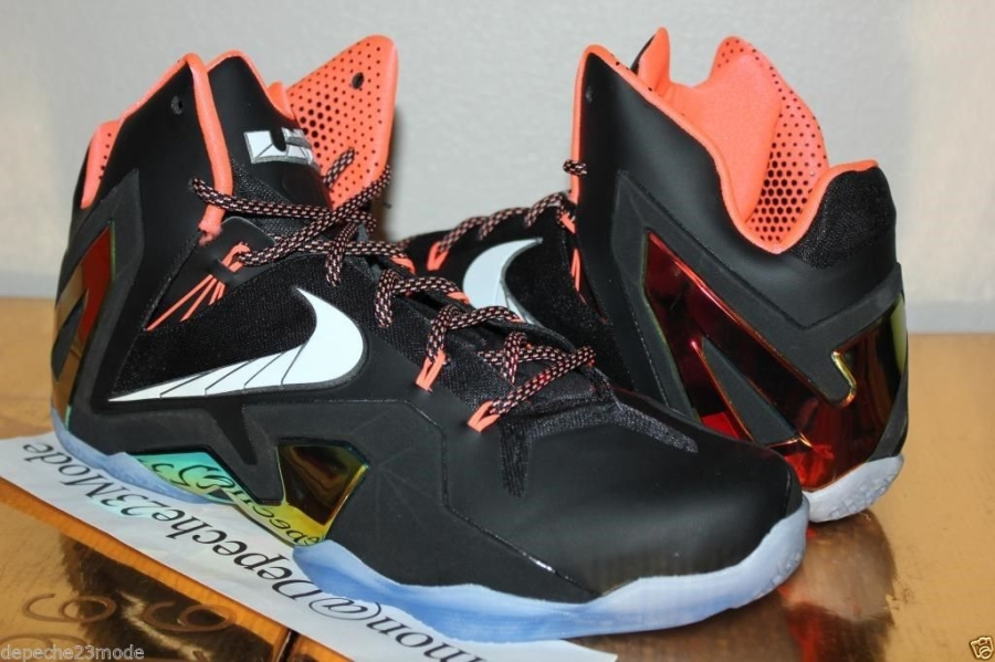 Nike LeBron 11 Elite - Black - Mango