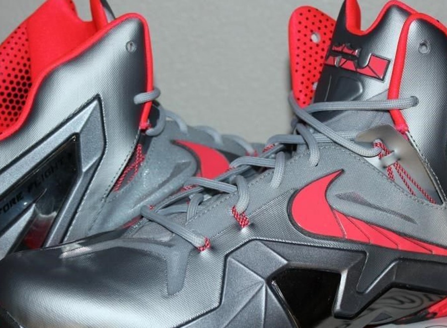 outlet store 9122e 7a0be Nike LeBron 11 Elite - Wolf Grey - Crimson - Cool Grey - Black -  SneakerNews.com