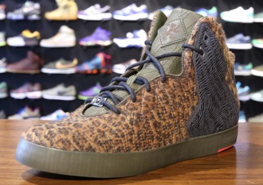 "Nike LeBron 11 NSW Lifestyle ""Leopard"" – Release Date"