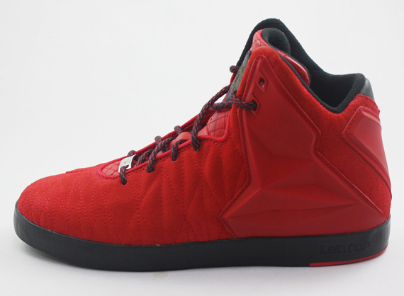 nike running shoes old models lebron xii nsw lifestyle red