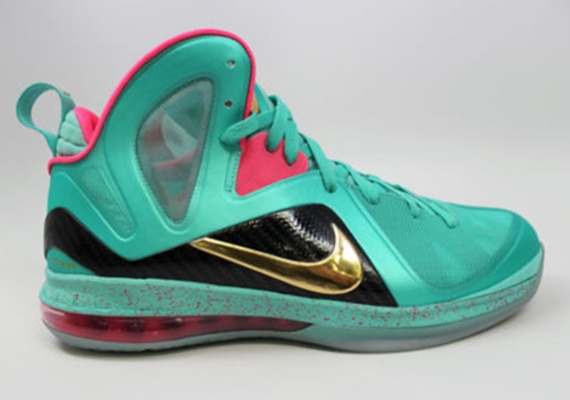 "promo code ee85d 47a48 Nike LeBron 9 Elite ""South Beach MVP"" Sample"