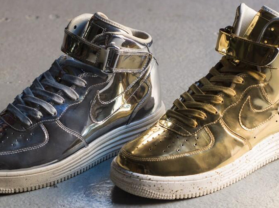 "reputable site 02c90 d5831 Nike Lunar Force 1 ""Liquid Metal Pack"" – Release Date"