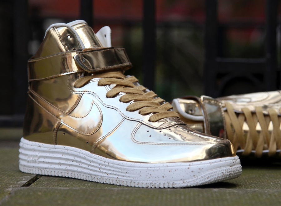 Nike Lunar Force 1 Quot Liquid Metal Quot Pack Europe Release