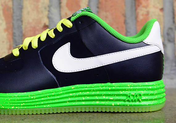 Prm Black Lunar Nike Speckle 1 Ns Force Neon Volt Yb76gfyv