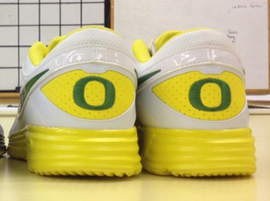 Nike Lunar MVP Pregame – Oregon Ducks PE