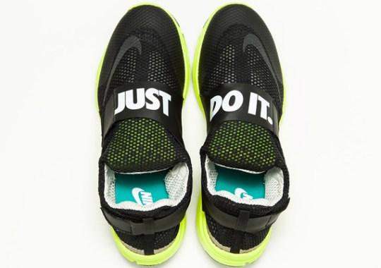 Nike Lunarfly 306 – Black – Volt