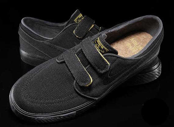best service 7fd13 df719 Nike SB Stefan Janoski Velcro – Black – Yellow