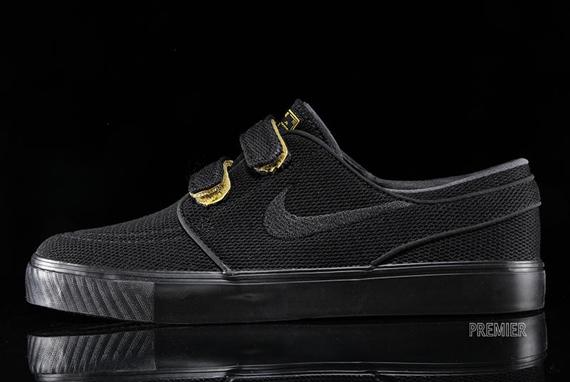 Nike SB Stefan Janoski Velcro - Black