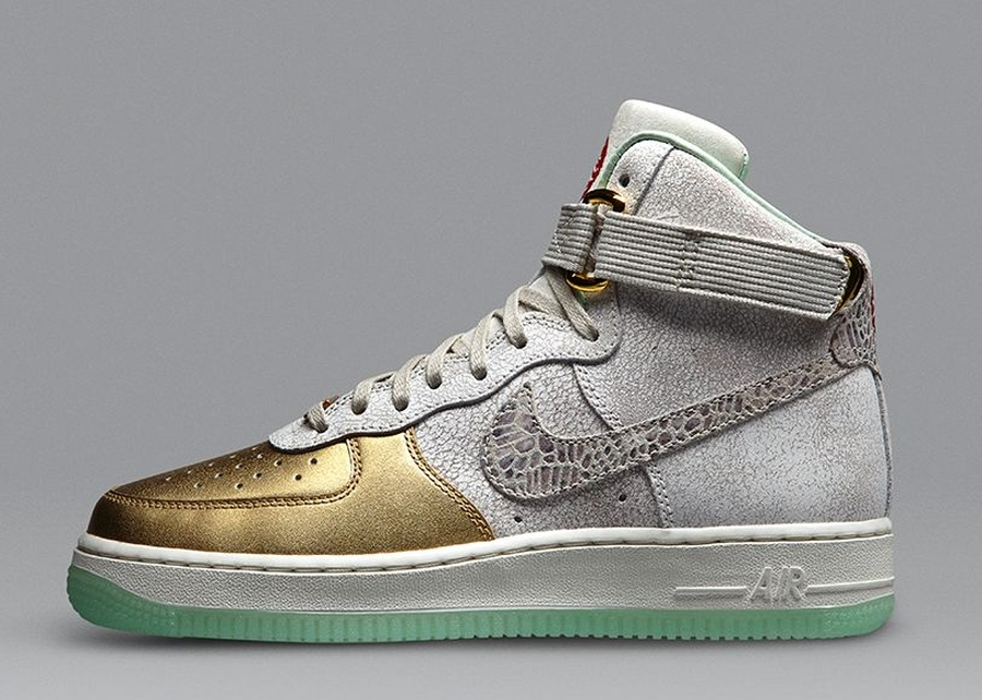 Women's Nike Wmns Air Force 1 Hi YOTH Year of the Horse Sneakers : V97q7600