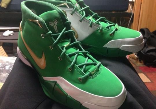 "Nike Zoom Kobe 1 ""Rice H.S."" PE on eBay"