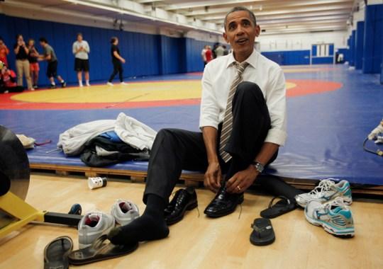 25 Years of Presidential Sneaker Heat