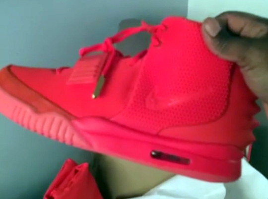 """Questlove Unboxes the Nike Air Yeezy 2 """"Red October"""""""