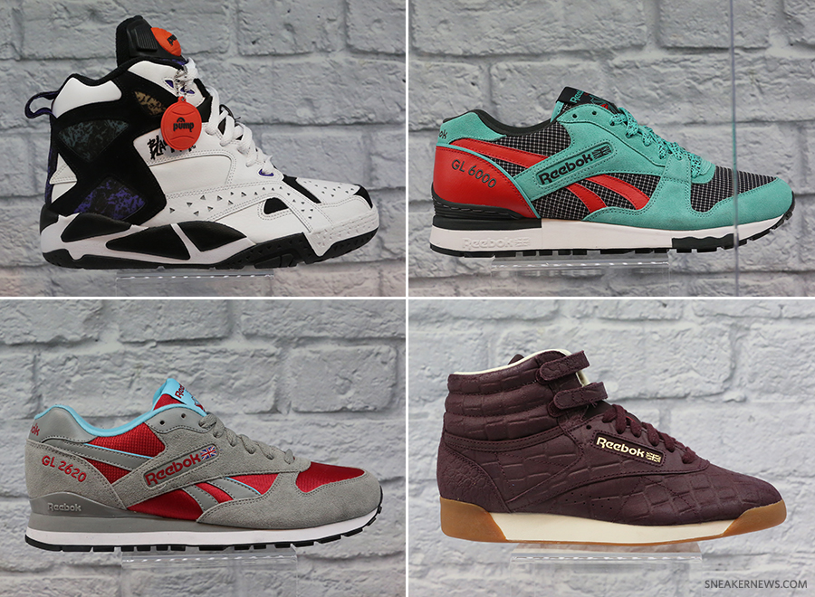 Reebok Classics Fall 2014 Preview at Agenda Trade Show 7763d91676ed