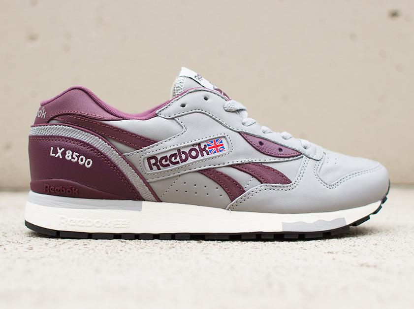 on sale 4ddf1 58adc Reebok LX 8500 - Grey - Burgundy - SneakerNews.com
