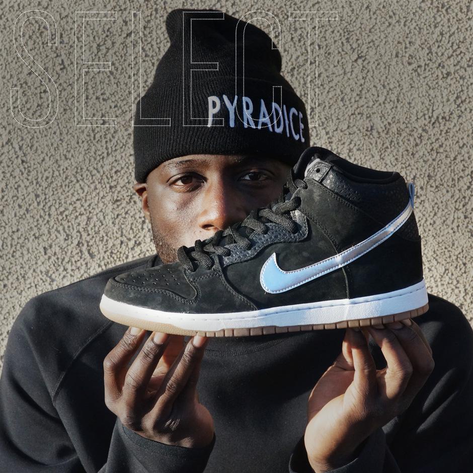 1018215d12b4 Sneaker News Select  Nigel Sylvester x Nike SB Dunk High