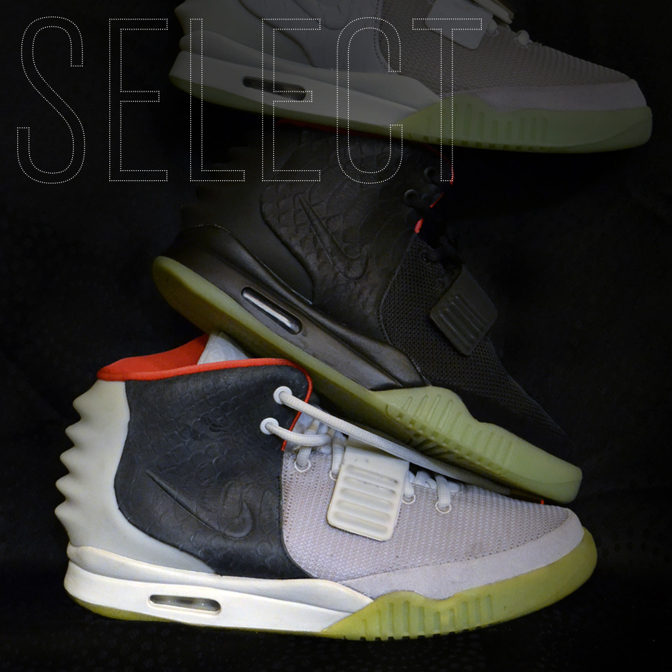 dfcef3ae11e7e Sneaker News SELECT Exclusive  Kanye West s 1 of 1 Air Yeezy 2 Sample