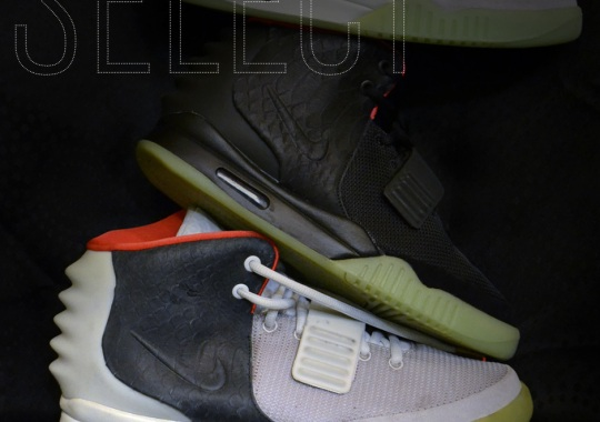 SELECT Exclusive: Kanye West's 1 of 1 Air Yeezy 2 Sample