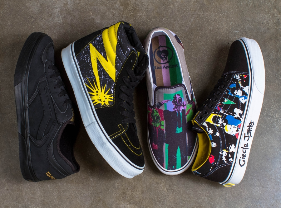 Vans to Re-release Classic Band Collaborations at SXSW ...