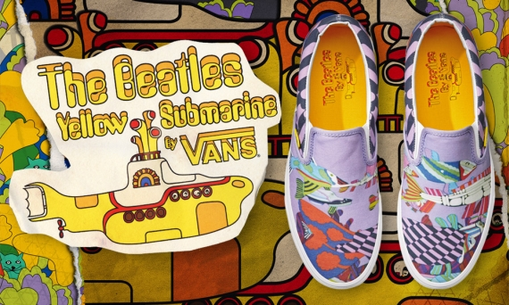 51bfbe1d7aac6f The Beatles Yellow Submarine x Vans Collection - Release Date ...