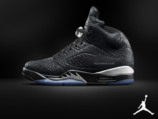 "Air Jordan 3Lab5 ""Black/Metallic"""