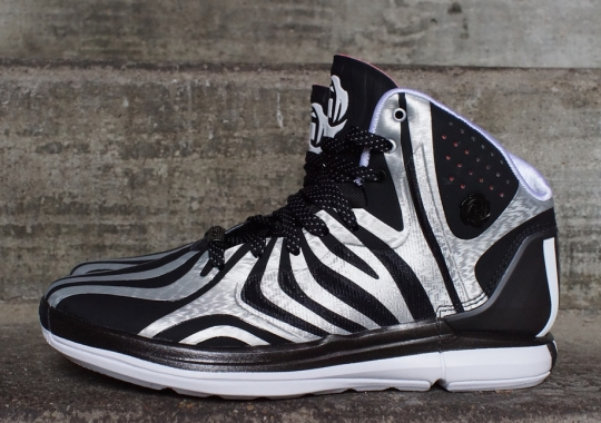 adidas D Rose 4.5 – Black – Silver