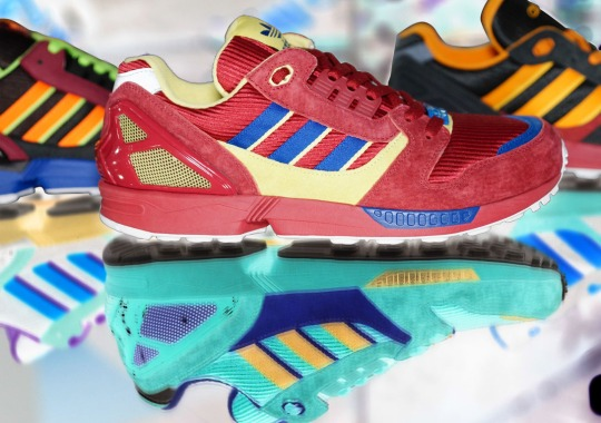 adidas Originals Inverts OG ZX Colors for 25th Anniversary