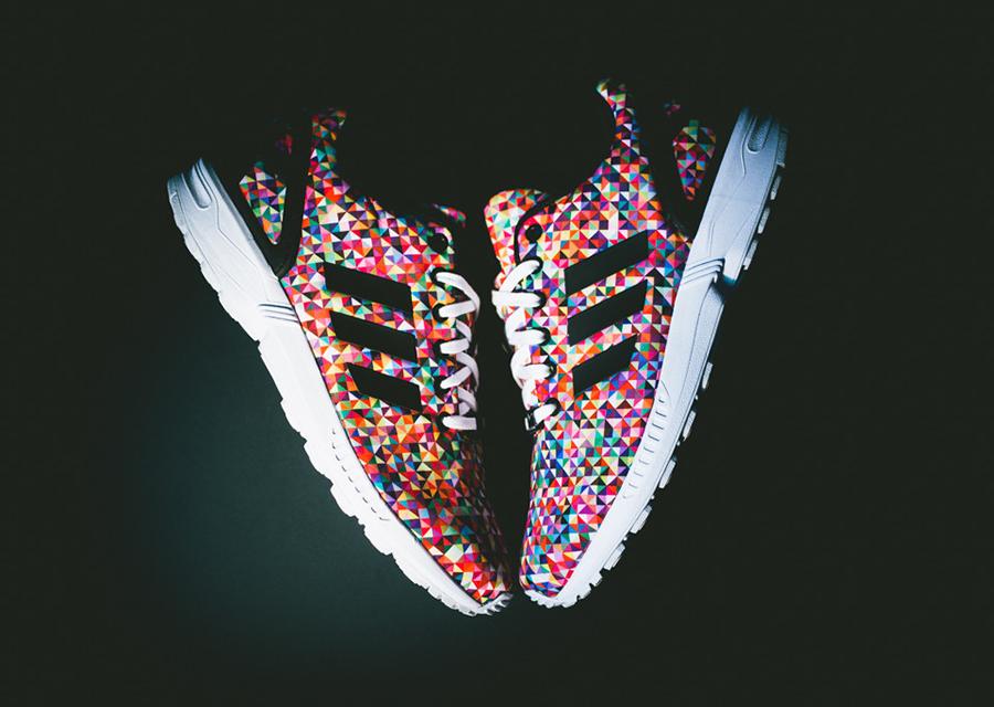 adidas zx flux multicolor damskie