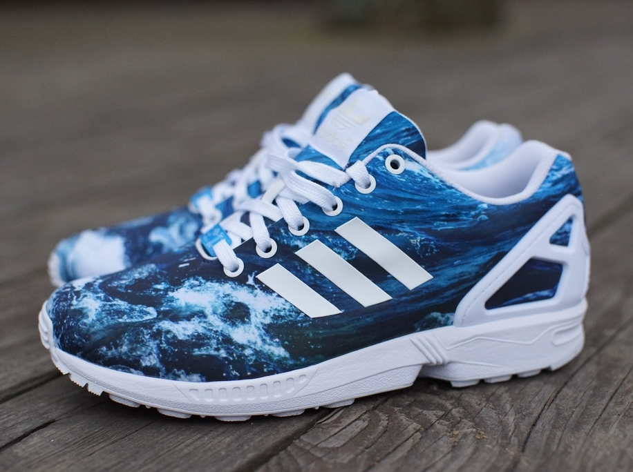 adidas zx flux ocean. Black Bedroom Furniture Sets. Home Design Ideas