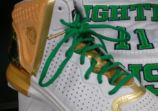 "adidas D Rose 4 ""Fighting Irish"" PE"