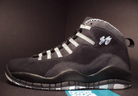 """Air Jordan 10 """"Stealth"""" – Unreleased Sample on eBay"""