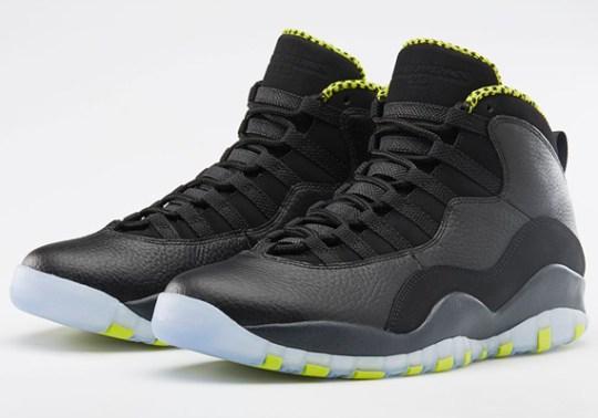 "Air Jordan 10 ""Venom Green"" – Nikestore Release Info"