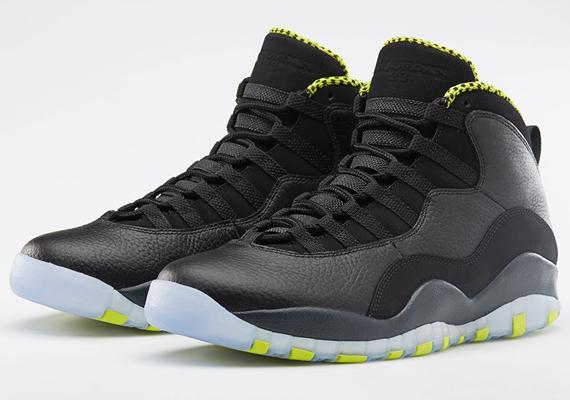 "6c5017e4245 Air Jordan 10 ""Venom Green"" – Nikestore ..."