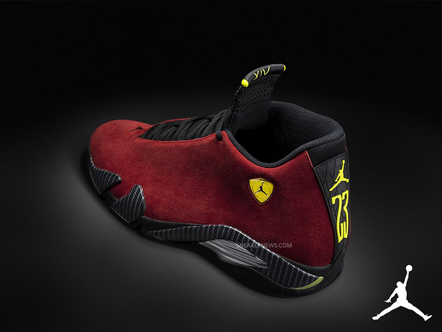 Air Jordan 14 Quot Red Suede Quot Sneakernews Com