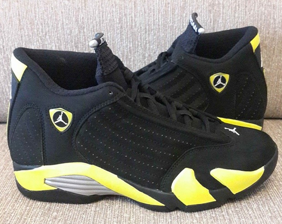 "The 2014 return of the Air Jordan 14 is one that looks to be dominated by new colorways rather than original ones. We've seen that the ""Black Toe"" is ..."