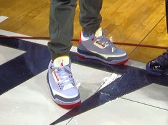 Are we looking at the latest collaboration between Solefly and Jordan  Brand  Pictured above is a reflective Air Jordan 3 that was spotted on-feet  for the ... f5784c27f4