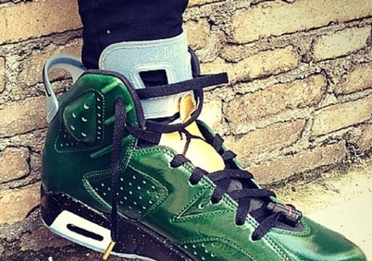 "Air Jordan 6 ""Champagne Bottle"""