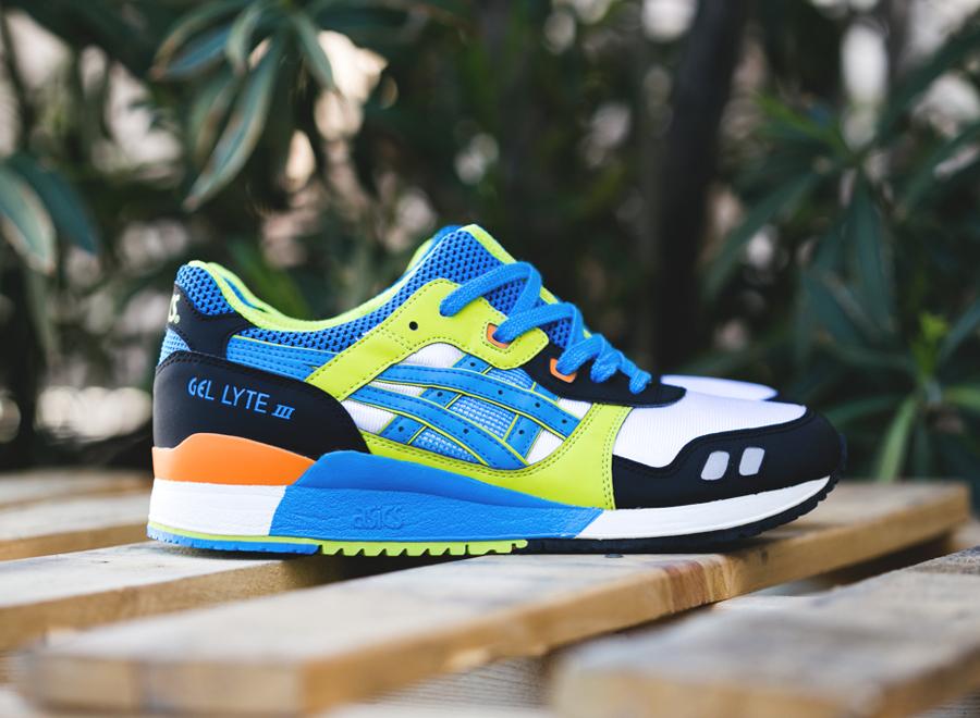 grand choix de cc9d1 30ebb Asics Gel Lyte III - Navy - Neon - Blue - SneakerNews.com