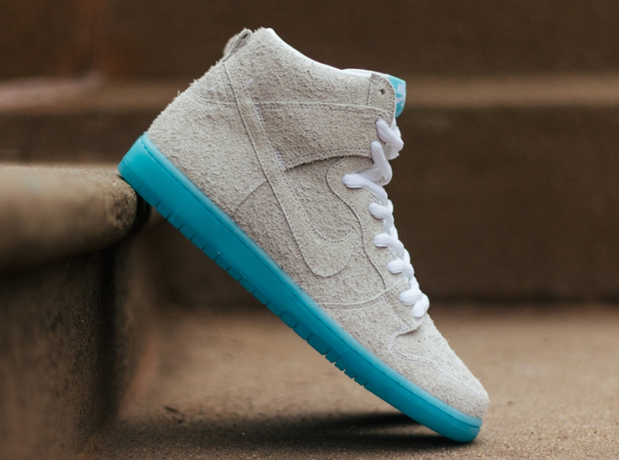 "quality design a4db6 366ab Baohaus x Nike SB Dunk High ""Chairman Bao"" - SneakerNews.com"
