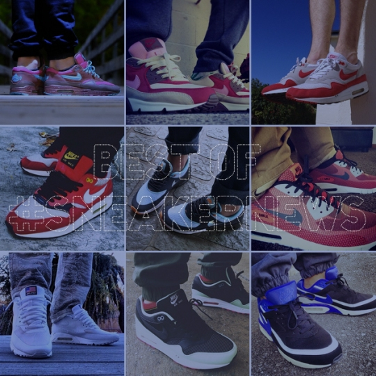Best of #SneakerNews – Nike Air Max Edition