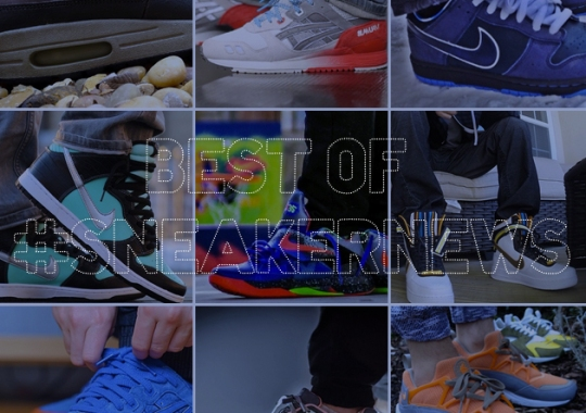 Best of #SneakerNews – Collaboration Edition